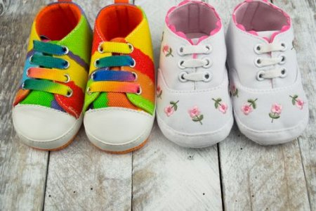 Размер детской обуви из США